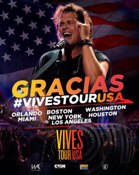 Carlos Vives Tour  Usa